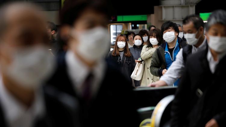 Governo do Japão pede para população continuar a se cuidar contra o coronavírus