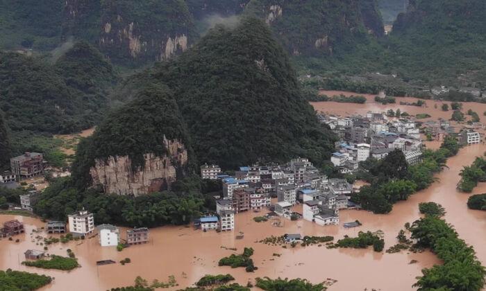 Inundações na China fazem 132 vítimas entre mortos e desaparecidos