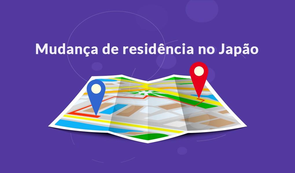 Mudança de residência no Japão