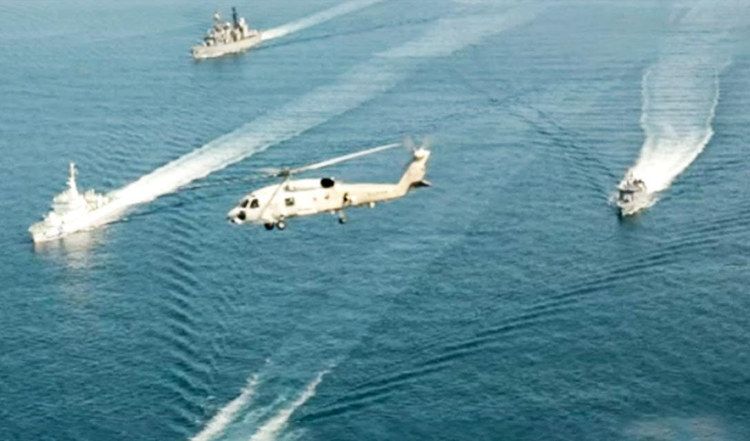 MSDF e Guarda Costeira do Japão realizam exercício conjunto