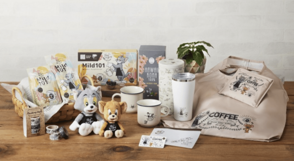 Tully's Coffee lança produtos em colaboração com o filme Tom and Jerry