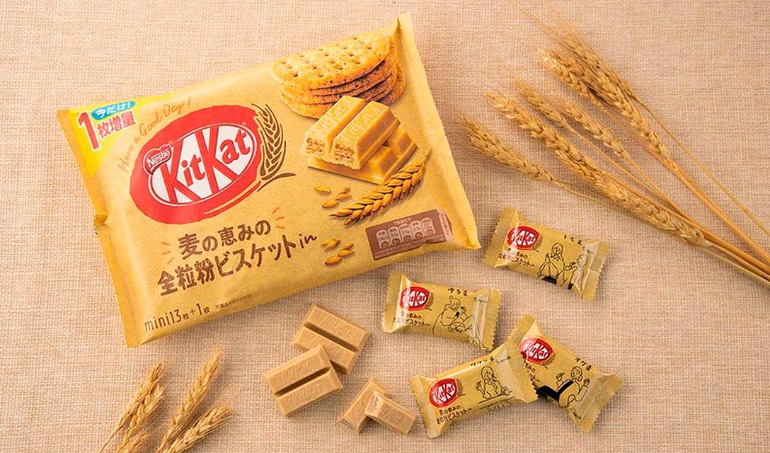Depois de 10 anos, nova série do KitKat em cor bege. O que será isso?