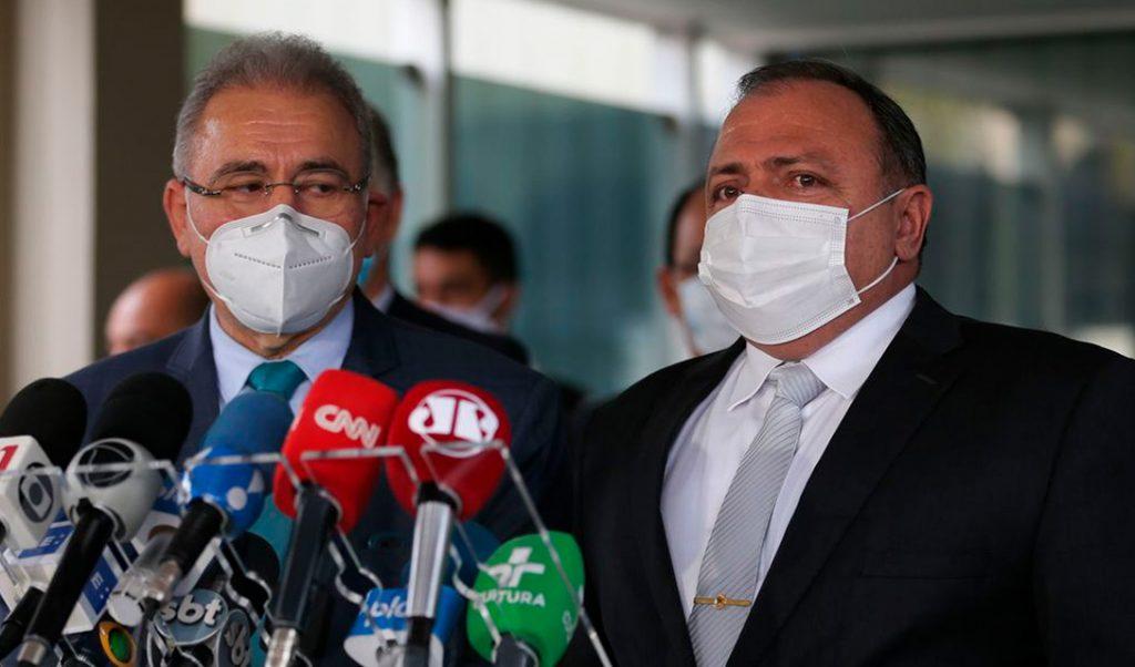 Ministério da Saúde do Brasil troca de comando pela 4ª vez durante a pandemia