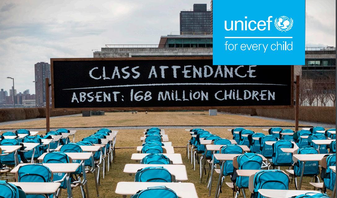 UNICEF: 168 milhões de crianças fora da escola durante a pandemia