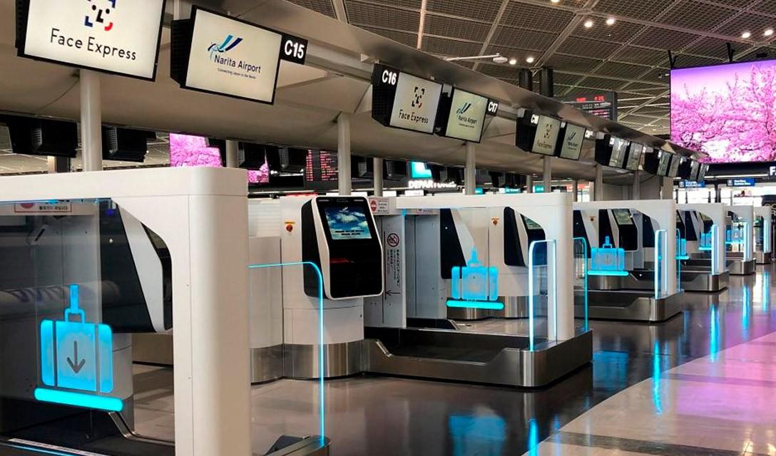 Aeroporto de Narita inicia teste de reconhecimento facial para viagens mais rápidas