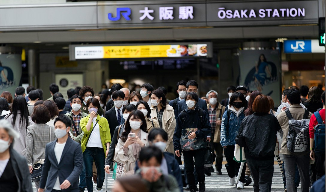 Osaka relata infecções recorde, governo tomam medidas mais duras para Aichi
