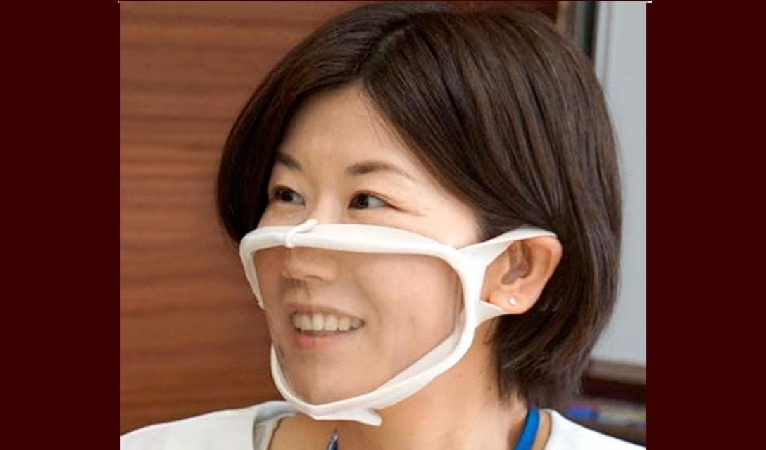 Unicharm revela máscaras faciais transparentes para ajudar os surdos