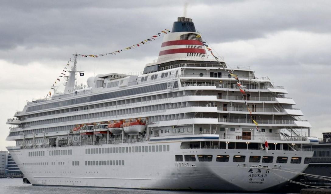 Passageiro em navio de cruzeiro japonês teste positivo para COVID-19