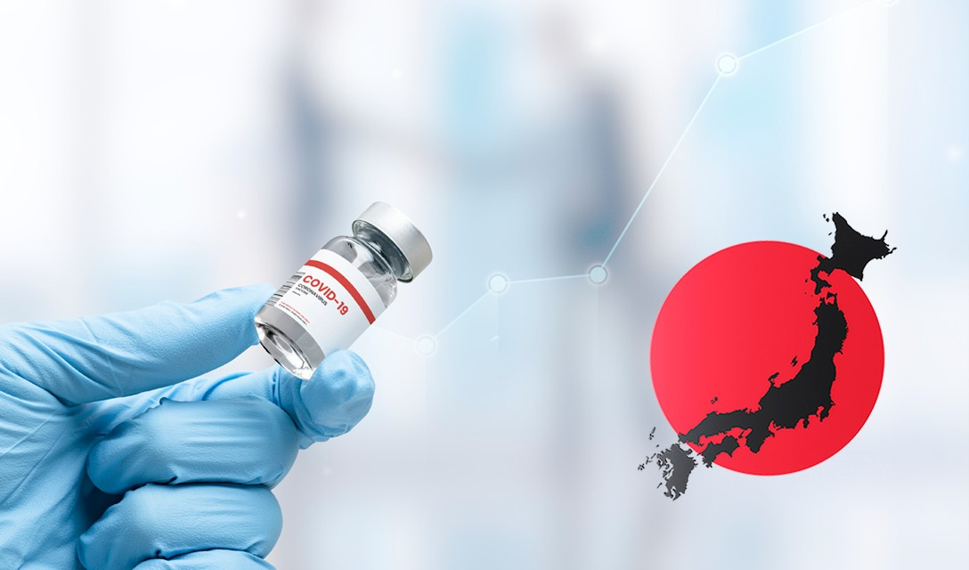 Japão tem mais de 50% da população totalmente vacinada