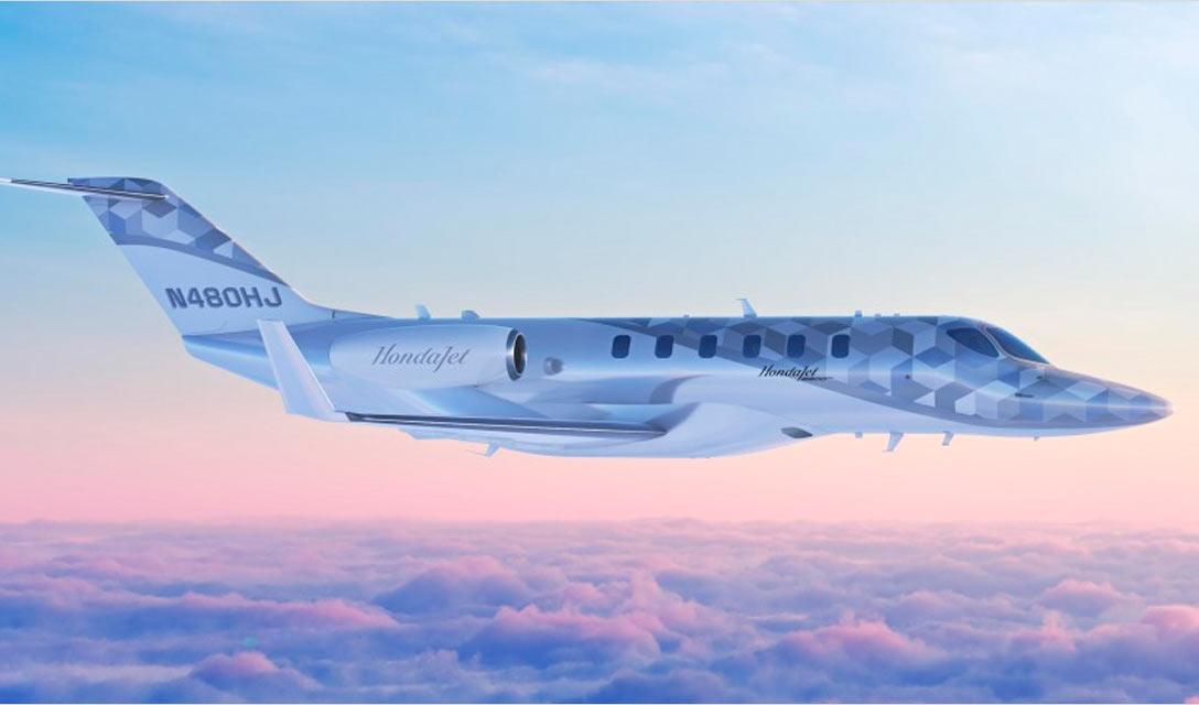 Honda apresenta novo avião de pequeno porte para voos diretos de longo curso